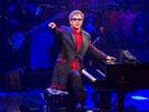 Záběr z londýnského koncertu Eltona Johna v rámci iTunes festivalu