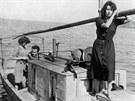 Anna Magnani ve snímku Vulcano