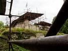 Znovuobjevený hrad Vízmburk dlouho chátral, ale sdružení už jej začíná...