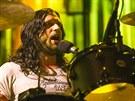 Kings of Leon vystoupili v rámci iTunes festivalu 11.9. 2013 v londýnském klubu...