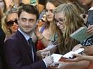 Daniel Radcliffe s fanoušky (Toronto, 10. září 2013)