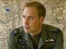 Princ William coby pilot RAF (18. června 2009)