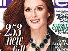 Julianne Moore na obálce říjnového vydání magazínu InStyle (2013)