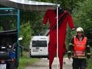 policisté hledají v Poříčí na Sázavě stopy k případu zastřeleného muže z...