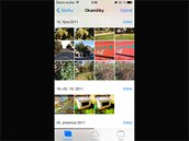 iOS 7 pro iPhone: Přepracované fotoalbum