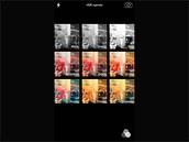 iOS 7 pro iPhone: Snímky můžeme pořizovat s několika efekty