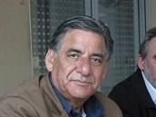 Bývalý palestinský ministr a novinář Nabíl Amr