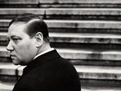 SLAVNÁ ROLE. Karla Kopfrkingla hrál ve filmu Juraje Herze Rudolf Hru�ínský.