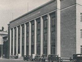 Budova Pražské burzy pro zboží a cenné papíry.