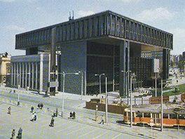 Bývalé sídlo Federálního shromáždění a Rádia Svobodná Evropa