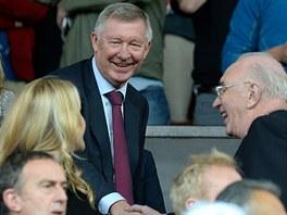 PŘIŠEL JSEM SE PODÍVAT, CHLAPCI. Dlouholetý trenér Manchesteru United Alex...