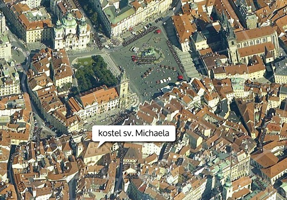 MAPA: Kostel sv. Michaela