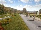 Silnice, která má vést kolem přehrady, může sloužit k obsluze nádrže, ale i...