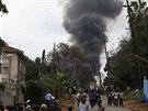 Boj o obchodní centrum v Nairobi, kde islamisté drží rukojmí, pokračoval v...