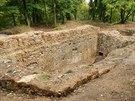 Zřícenina hradu v Kunraticích