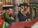 Výstava Znamení vertikál v opavském Slezském zemském muzeu, kde byly svezeny z...