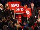 Kancl��sk� kandid�t n�meck�ch soci�ln�ch demokrat� Peer Steinbr�ck na velk�m...