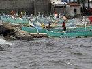 Tajfun zasáhl i filipínskou Manilu (21. září)