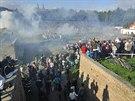 Atmosféru napoleonských válek mnozí návštěvníci pocítili i na vlastní kůži....