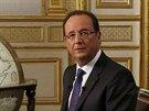 Francouzský prezident Francois Hollande.