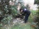 Strážníci kontrolují kolektory pravidelně.