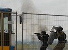 Zásah policejních protiteroristických jednotek na Dnech NATO v Ostravě