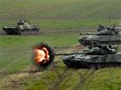 Zteč mechanizované jednotky na Dnech NATO v Ostravě