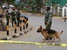 Ke�sk� bezpe�nostn� slo�ky obkl��ily v Nairobi obchodn� centrum, kde �to�ili