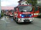 Požár skladu v areálu brněnské Veterinární a farmaceutické univerzity zaměstnal...