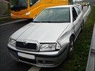 Na R35 ve směru na Liberec ráno havarovalo auto do svodidel. Když na místě...