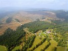 Správa Národního parku Šumava provádí v těchto dnech letecké monitorování a...