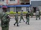 Policisté v Nairobi při přípravě zásahu na obchodní dům, na který zaútočili islámští teroristé.
