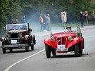 Jízda do vrchu a výstava historických vozidel Brno–Soběšice 2013
