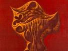 Franti�ek Muzika, Larva XIV v �erven�, 1972