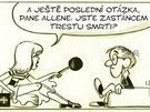 Z komiksu V kůži Woodyho Allena