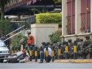 Útok islamistů v obchodním centru v keňském hlavním městě Nairobi. (21. září