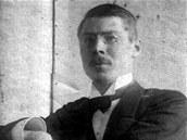 Archiktekt Josip Plečnik v roce 1894