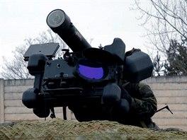 Protiletadlový komplet RBS-70 Bofors