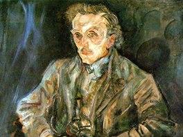 Oskar Kokoschka: Portrét Adolfa Loose (1909)