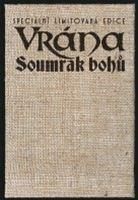 Vrána - Soumrak bohů (pouzdro na knihu)