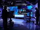 Zpravodajská televizní stanice ČT24 změnila i barvu svého studia.