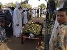 Oběť nepokojů v Súdánu (29. září 2013)