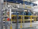 Podzemní zásobník plynu v Lobodicích na Přerovsku dostal nový kompresor za 100
