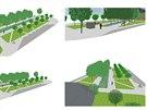 Klicperovo náměstí v Chlumci nad Cidlinou bude mít promenádu.