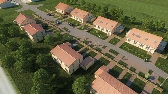 Rodinné domy v Unhošti: pohodlné bydlení v přírodě nadosah Praze