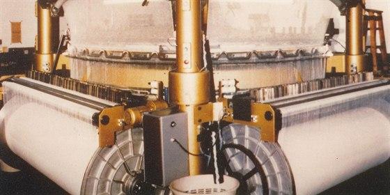 Tkací turbína, vynález Adolfa Linky