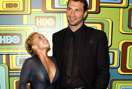 Hayden Panettiere a Vladimir Kli�ko (16. ledna 2011)