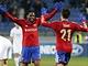 Fotbalist� CSKA Moskva se raduj� z g�lu v utk�n� Ligy mistr� proti Plzni na podzim 2013, kdy doma vyhr�li 3:2. Jak si povedou proti Spart�?