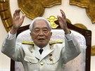Vietnamský generál Giap na snímku z roku 2004.