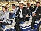 Hyundai je nejúspěšnější automobilka v zemi, řekl krom jiného Miloš Zeman v